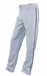 Easton Youth Gray/Navy Rival Piped Pants A164561