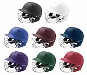 Easton Z5 Adult Solid Grip Batting Helmets w/ Masks