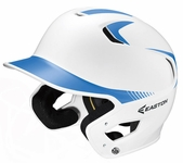 Eaton White/Carolina Blue Youth Z5 Grip Two Tone Batting Helmet A168086