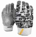 EvoShield Black/White Camo Protective Batting Glove A140