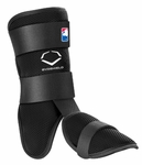 EvoShield Black Youth Batter's Leg Guard A110BLKY