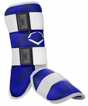 Evoshield Protective Batter's Leg Guard - Speed Stripe - Royal