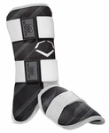 EvoShield Protective Batter's Leg Guard - Speed Stripe - Black