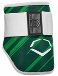 Evoshield Protective Batters Elbow Guard - Speed Stripe - Green