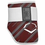 Evoshield Protective Batters Elbow Guard - Speed Stripe - Maroon