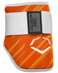 Evoshield Protective Batters Elbow Guard - Speed Stripe - Orange
