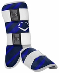Evoshield Protective Batters Leg Guard - Speed Stripe - Navy
