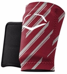 Evoshield Protective Wrist Guard - Speed Stripe - Maroon
