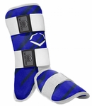 Evoshield Protective Youth Batter's Leg Guard - Speed Stripe - Royal