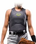 EvoShield Racerback Softball Chest and Back Guard A101 -- Youth & Adult