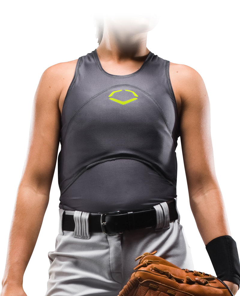 Evoshield Racerback Softball Chest And Back Guard A101