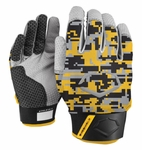 EvoShield Yellow/Black Protective Batting Glove A140