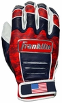 Franklin Adult CFX Pro Fourth of July Batting Gloves