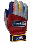 Franklin Gray Adult NEO Classic Players Weekend Batting Gloves