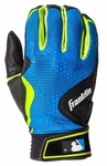 Franklin Black/Royal Youth FreeFlex Batting Gloves