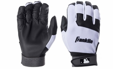 Franklin Black/White Youth Flex Batting Glove