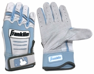 Franklin Carolina Blue Adult CFX Pro Father's Day Batting Gloves
