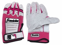 Franklin Hot Pink Adult CFX Pro Batting Gloves