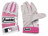 Franklin Light Pink Youth Neo Classic II Batting Gloves