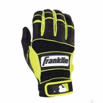 Franklin Neo/Optic Yellow Youth Neo Classic II Batting Gloves