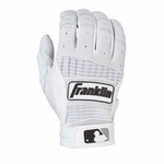 Franklin Pearl/White Adult Neo Classic II Batting Gloves