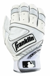 Franklin Pearl/White Adult Powerstrap Batting Glove