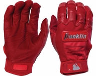 Franklin Red Adult CFX Pro Chrome Dip Batting Glove 20591f