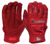 Franklin Red Youth CFX Pro Chrome Dip Batting Glove 20543F2