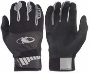 Lizard Skin Komodo Elite Batting Glove Youth - Jet Black