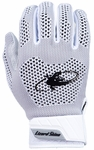 Lizard Skins White Adult Pro-Knit Batting Gloves KOPK20