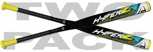 Louisville Slugger Hyper Z Slowpitch Bat Balanced  SSUSA WTLHZS16B (2017) and Louisville Slugger Hyper Z Slowpitch Bat Balanced  SSUSA WTLHZS16B (2017)