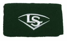 "Louisville Slugger Traditional 5"" Dark Green Wristband WTLACPL14-WBLDG"