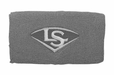 "Louisville Slugger Traditional 5"" Gray Wristband WTLACPL14-WBLGY"