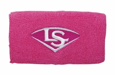 "Louisville Slugger Traditional 5"" Hot Pink Wristband WTLACPL14-WBLHP"