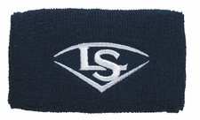 "Louisville Slugger Traditional 5"" Navy Blue Wristband WTLACPL14-WBLNV"