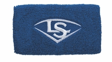 "Louisville Slugger Traditional 5"" Royal Blue Wristband WTLACPL14-WBLRL"