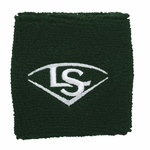 "Louisville Slugger Transitional Dark Green 2.5"" Wristband WTLACPL14CWBSDG"