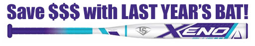 Louisville Xeno Plus Fastpitch Bat -10oz WTLFPXN170 (2017)