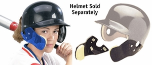 Markwort C-Flap Cheek and Jaw Guard Royal - Helmet Not Included