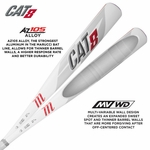 Marucci CAT8 Alloy Detail