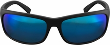 Marucci Gancio Matte Black/Blue Lifestyle Sunglasses