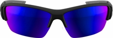Marucci MV108 Matte Black/Blue Performance Sunglasses