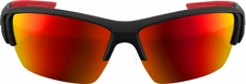Marucci MV108 Matte Black/Red Performance Sunglasses