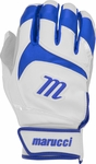 Marucci Signature Batting Gloves White/Royal Blue