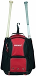 Marucci Travel Ball Bat Pack - Black / Red