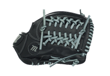 """Marucci Youth Founders' 11.25"""" Infield Glove MFGY1125T-BK/GY"""