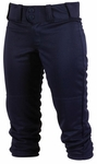 Rawlings Adult Low-Rise Navy Women's Softball Pants WRB150-N