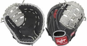 "Rawlings Gamer 12.5"" 1st Base Mitt GFM18BG (2018) Left Hand Throw"