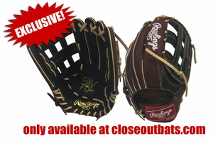 """Rawlings Heart of the Hide 12.75"""" Outfield Glove PRO3039-6 (2017)"""