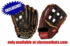 "Rawlings Heart of the Hide 12.75"" Outfield Glove PRO3039-6BGR (2017)"
